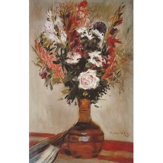 The Museum Outlet - Roses in a Vase, 1972 - Poster Print Online Buy (24 X 32 Inch)