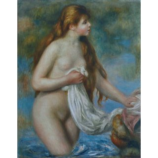 The Museum Outlet - Standing Bather, 1895 - Poster Print Online Buy (24 X 32 Inch)