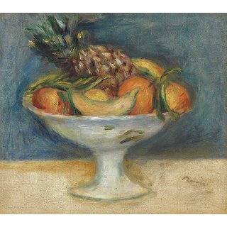The Museum Outlet - Still Life - Compotier with Fruit, 1890 - Poster Print Online Buy (24 X 32 Inch)