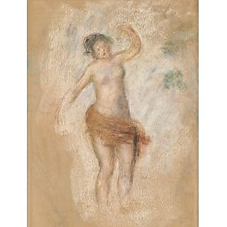The Museum Outlet - Study of Faun Woman for Oedipus the King, 1900 - Poster Print Online Buy (24 X 32 Inch)