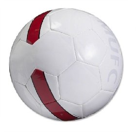 Shoppers Manchestor United MAN UTD-White Football (Size-5)