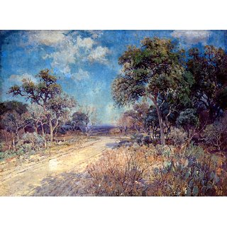The Museum Outlet - Road to the Hills, 1918 - Poster Print Online Buy (24 X 32 Inch)