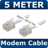 Pre Order 10 M FAX Telephone Phone Modem Cable