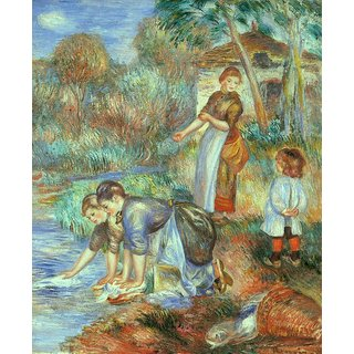 The Museum Outlet - Laundresses, 1888 - Poster Print Online Buy (30 X 40 Inch)