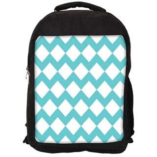 Snoogg Waves Vs Wave 2570 Digitally Printed Laptop Backpack
