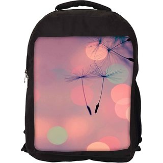 Snoogg Dandelions At Sunset Designer Laptop Backpacks
