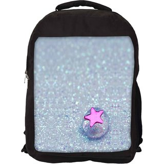 Snoogg Starfish Jelly Designer Laptop Backpacks
