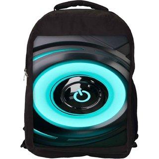 Snoogg Power On Designer Laptop Backpacks
