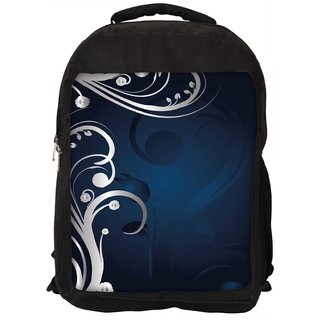 Snoogg Abstract Background Designer Laptop Backpacks