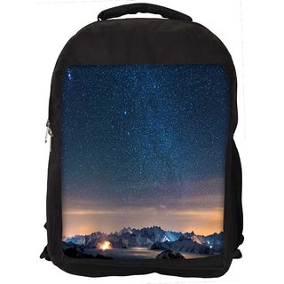Snoogg Awesome Stars Digitally Printed Laptop Backpack
