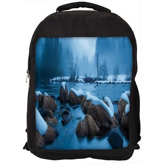Snoogg Cool Wallpaper Widescreen Digitally Printed Laptop Backpack