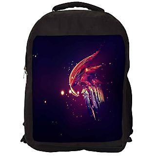 Snoogg Et Fly Designer Laptop Backpacks