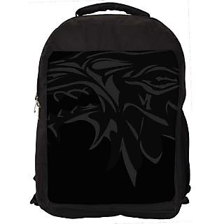 Snoogg House Music Digitally Printed Laptop Backpack