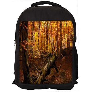 Snoogg Broken Tree Digitally Printed Laptop Backpack
