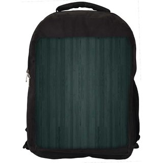 Snoogg Minimalistic Wood Digitally Printed Laptop Backpack
