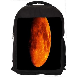 Snoogg Sun Digitally Printed Laptop Backpack