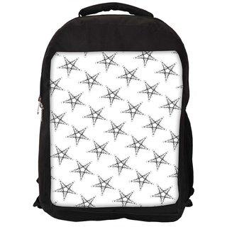 Snoogg Plenty Of Stars Digitally Printed Laptop Backpack