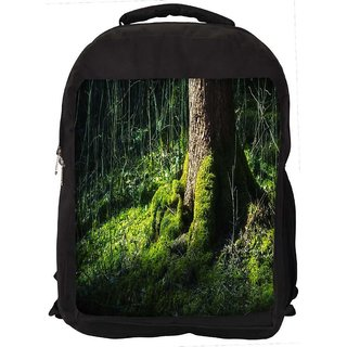 Snoogg Huge Tree Digitally Printed Laptop Backpack