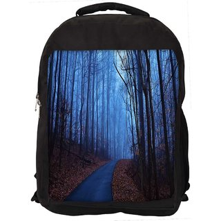 Snoogg Trees Without Leaves Digitally Printed Laptop Backpack