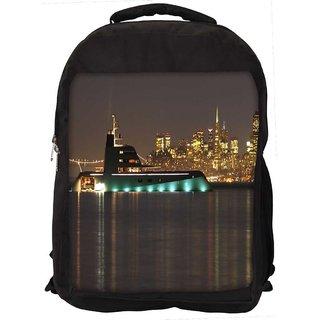 Snoogg Big Samreen Digitally Printed Laptop Backpack