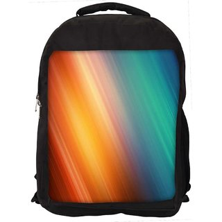 Snoogg Aurora Abstract Digitally Printed Laptop Backpack