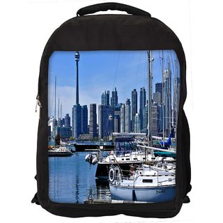 Snoogg Abstract Yards Digitally Printed Laptop Backpack