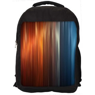 Snoogg Pattern Design Digitally Printed Laptop Backpack