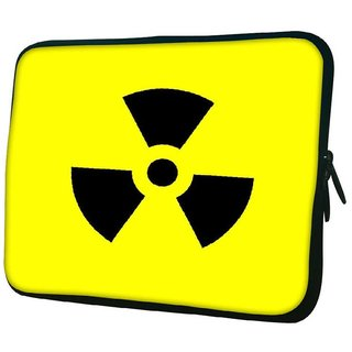 Snoogg Toxic 2385 10.2 Inch Soft Laptop Sleeve