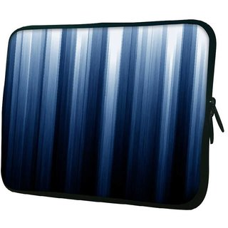 Snoogg Sky Blue Design 10.2 Inch Soft Laptop Sleeve
