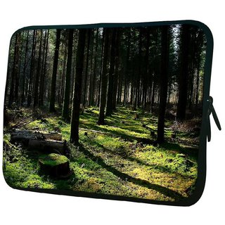 Snoogg Cutting Down The Trees 10.2 Inch Soft Laptop Sleeve