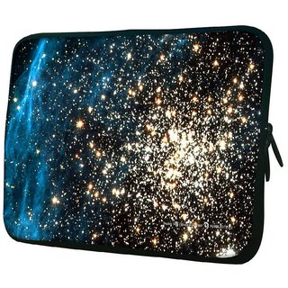 Snoogg Plenty Of Stars 10.2 Inch Soft Laptop Sleeve