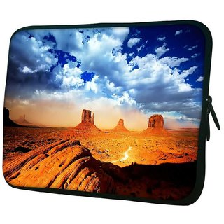 Snoogg Dried Mountains 10.2 Inch Soft Laptop Sleeve