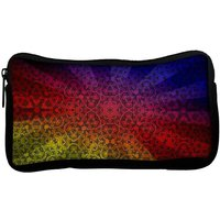 Snoogg Abstract Sun Rays Poly Canvas  Multi Utility Travel Pouch