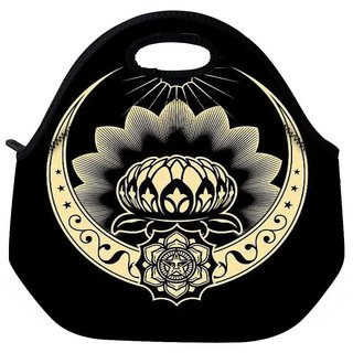 Snoogg Celtic Logo 2517 Travel Outdoor Tote Lunch Bag