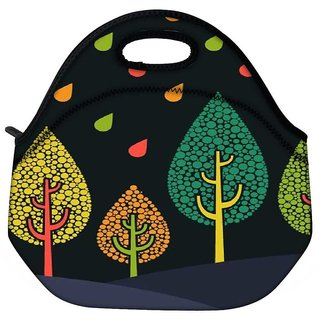 Snoogg Tree Cool Travel Outdoor Tote Lunch Bag