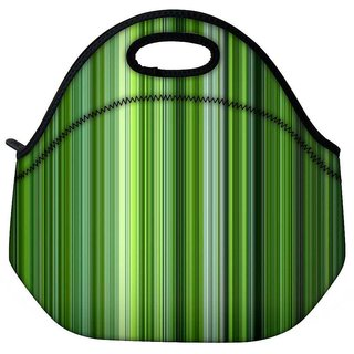 Snoogg Abstract Cool Travel Outdoor Tote Lunch Bag