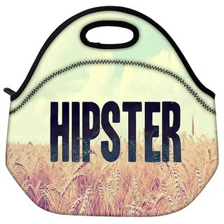 Snoogg Hipster Picsty Travel OutdoorTote Lunch Bag