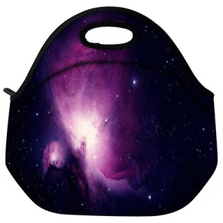 Snoogg Stars In The Galaxy Travel Outdoor Tote Lunch Bag