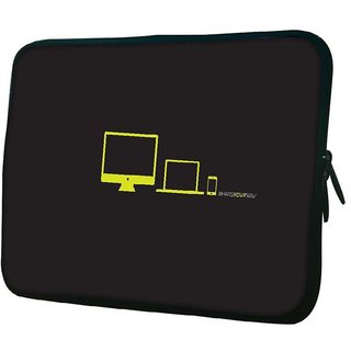 Snoogg Whats Your Size 10.2 Inch Soft Laptop Sleeve