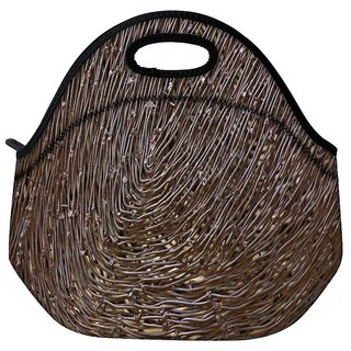 Snoogg Abstract Nest Design Travel Outdoor CTote Lunch Bag