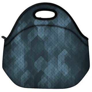 Snoogg Pattern Abstract Travel Outdoor Tote Lunch Bag