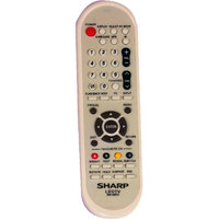 Sharp rm-689g led/lcd tv remote control
