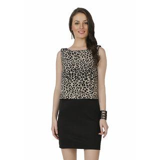 4f3b2f782ce636 Buy Chimpaaanzee Women Animal Printed Dress Online   ₹699 from ...