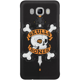 Dreambolic Skulls And Bones Mobile Back Cover