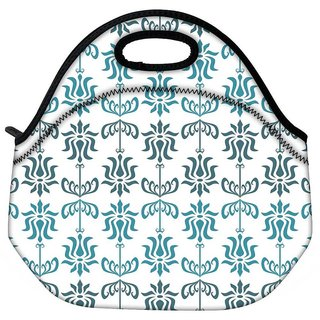 Snoogg Opposite Variety Travel Outdoor CTote Lunch Bag