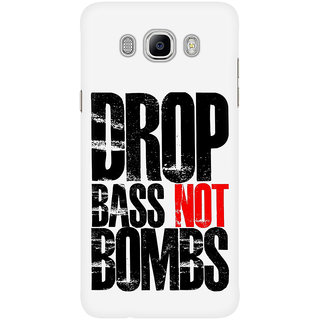 Dreambolic Drop Bass Not Bombs Graphic Mobile Back Cover