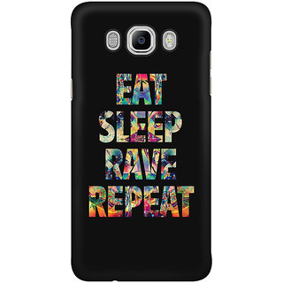 Dreambolic Eat Sleep Rave Repeat Mobile Back Cover