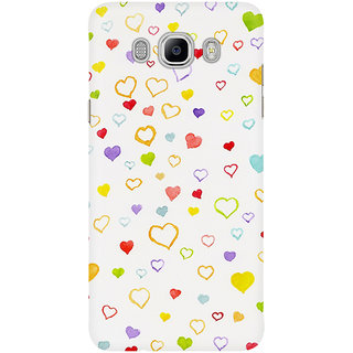 Dreambolic Watercolor Little Hearts Mobile Back Cover