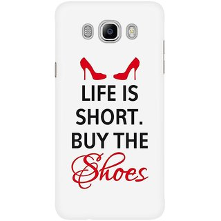Dreambolic Life Is Short, Buy The Shoes Mobile Back Cover