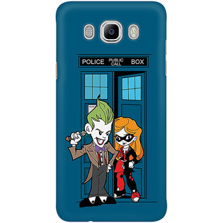Dreambolic Madman In A Blue Box Mobile Back Cover